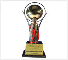 Robosapiens Technologies awarded by Rajendra Polytechnic