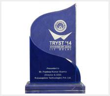 Tryst award 2014 by IIT Delhi