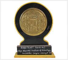 Robotryst award 2013-2014