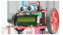 robotics with AVR kit front