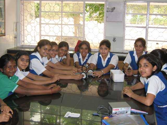 school robotics workshop In Chandigarh at Carmel convent school