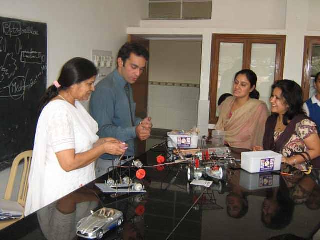 how to find Robotics workshop in Chandigarh?