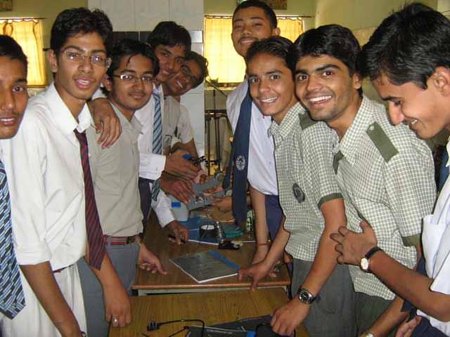 school level irobotic workshop