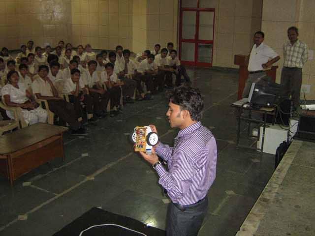 summer robotics training in faridabad