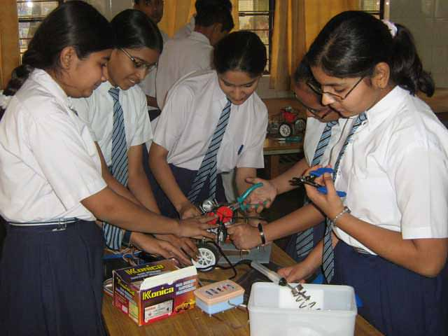 robotic education programs in India