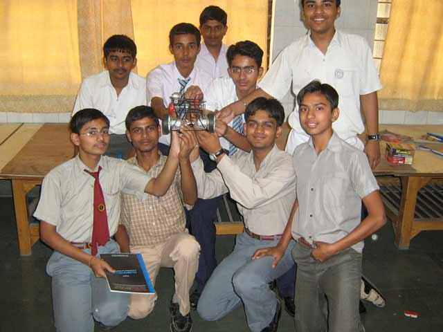 8051 robotics workshop in Faridabad