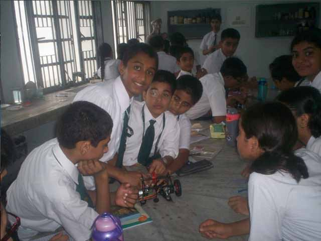 robotic junior workshop and training in Uttarakhand