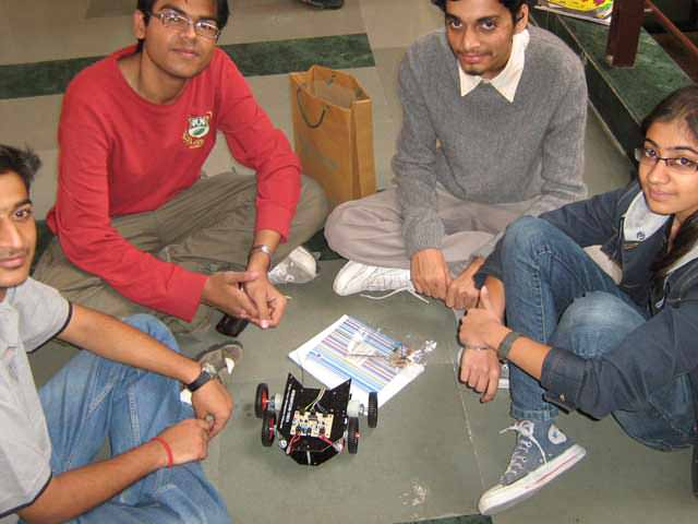 How find mobile robotics workshop in India?