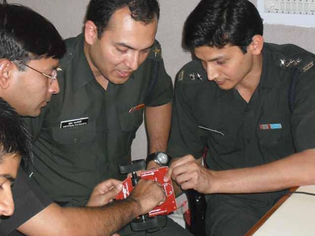 Zigbee robotic workshop in India