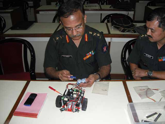 winter robotic training programs