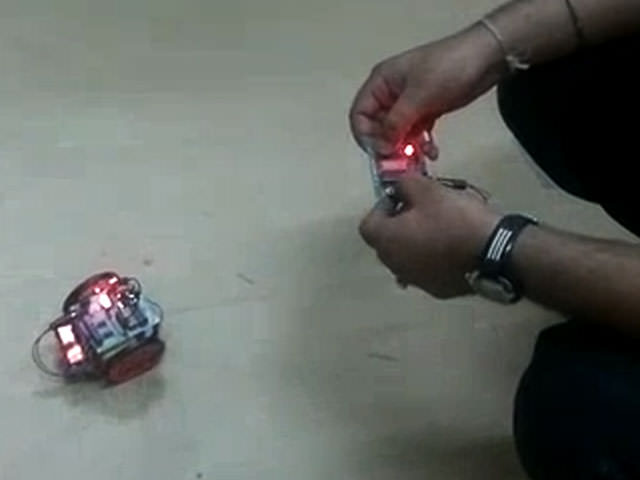 robotics workshop of Wireless Controlled Robot