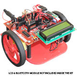 bluetooth operated robot